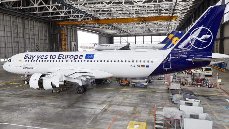 Lufthansa promovira volitve v Evropski parlament
