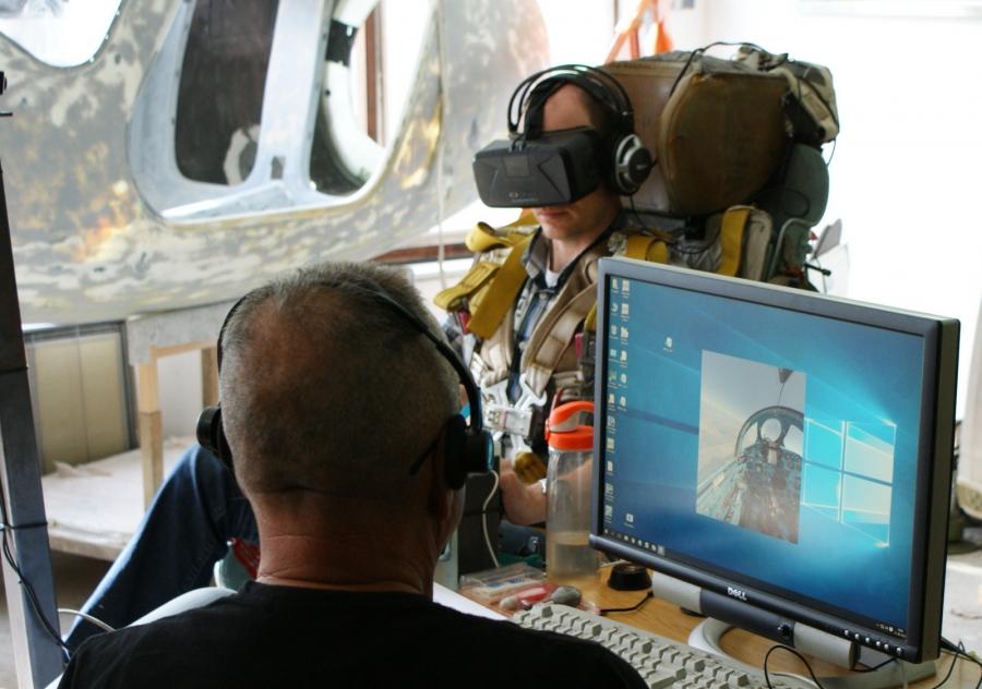 X-Alpha and Mig-21 flight simulators
