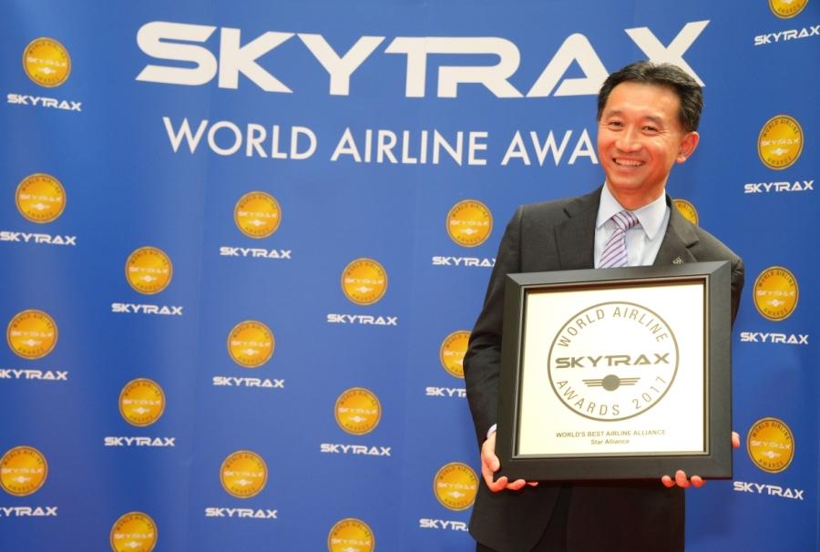 Star Alliance z nazivom najboljšega združenja Skytrax World Airline Awards