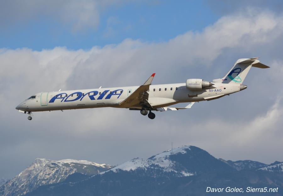 Austrian Airlines ponovno najema dve letali Adrie Airways