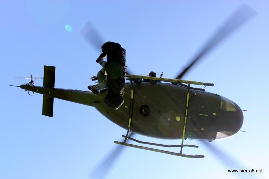 Helikopterji Slovenske vojske konec tedna poleteli na pomoč kar 12-krat