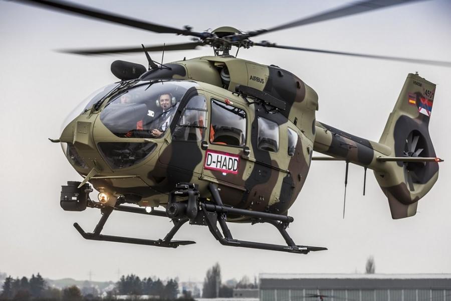 Srbija prevzela novi vojaški helikopter