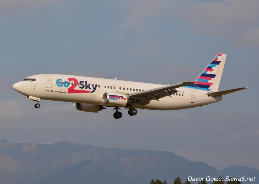 Adria Airways za čez praznike najema Boeing 737