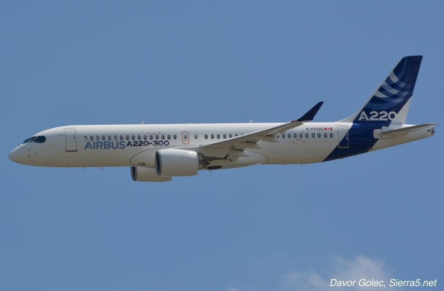 Airbus predstavlja novo letalo
