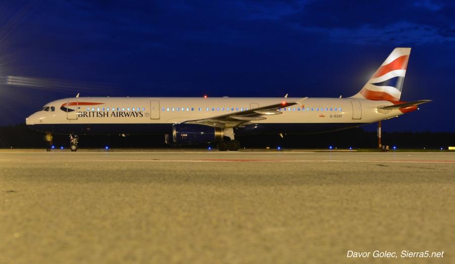 British Airways bo ponovno letel v Ljubljano